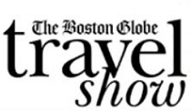 logo for BOSTON GLOBE TRAVEL SHOW 2020