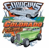 logo for GOODGUYS COLORADO NATIONALS 2020