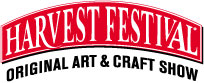logo for HARVEST FESTIVAL - ORIGINAL ART & CRAFT - POMONA 2020