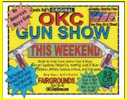 logo for OKLAHOMA CITY GUN SHOW 1 2019